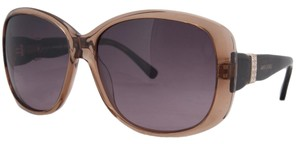 Swarovski Swarovski Clear Brown Square Sunglasses