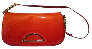 Dior Satchel in red/orange
