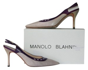 Manolo Blahnik purple/lavender Pumps