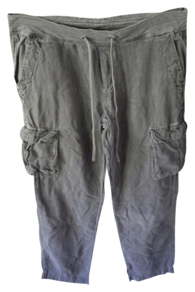 James perse gray wgb1362 cargo pants size 8 m 29 30 tradesy james perse cargo pants gray malvernweather Gallery