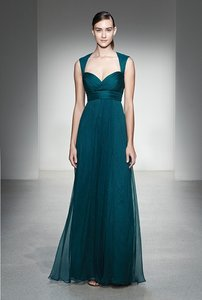 Amsale Navy Amsale Bridesmaid Dress G764c - Navy Dress