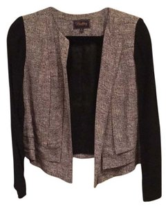 Madewell Black and gray Blazer
