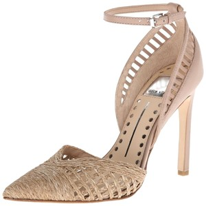 Dolce Vita Pump Ankle Strap Taupe Pumps