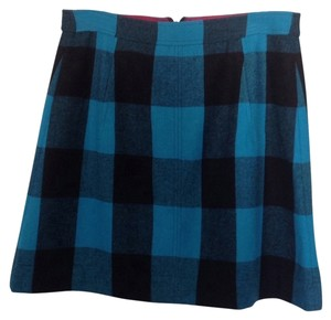 Banana Republic Skirt Black And Turquoise