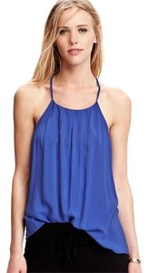 Old Navy Halter Large Rayon New Top Blue