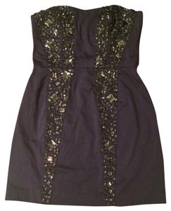 French Connection Sparkly Short Mini Dress