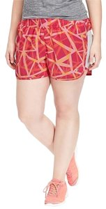 Old Navy NWT women's Old Navy Active Pique-Mesh Shorts Flaming Orange size XXL NEW