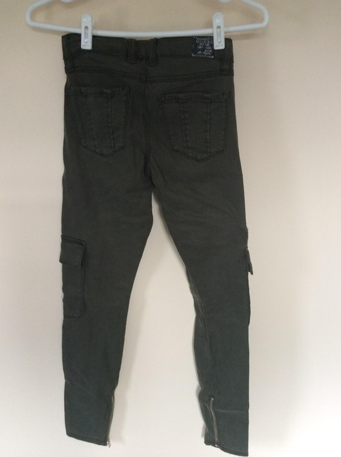 Guess Cargo Jeans-Medium Wash