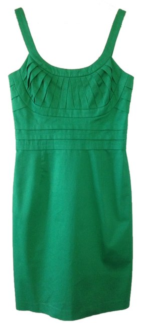 Item - Green Knee Length Cocktail Dress Size 6 (S)