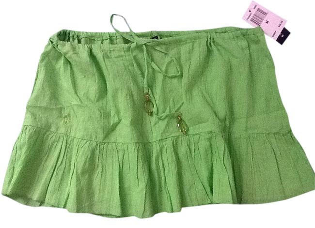Ralph Lauren Mini Skirt LIME GREEN
