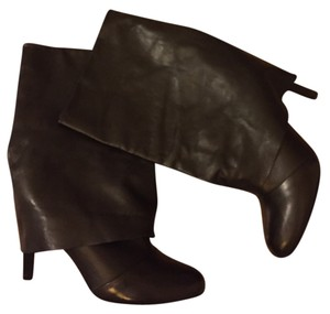 See by Chloé Leather Chloe Aprica Black Boots