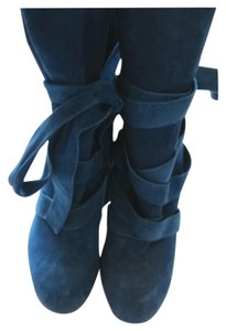 Marc Jacobs Suede Blue Boots