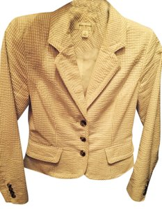 Isaac Mizrahi Jacket Sear Sucker Coat Top Blazer