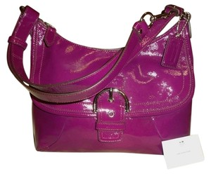 Coach Purple Messenger Bag