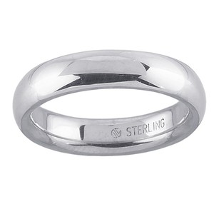 Sterling Silver 6mm Inside Round Unisex Wedding Band Ring By Brian G @ Brian Gdesigns