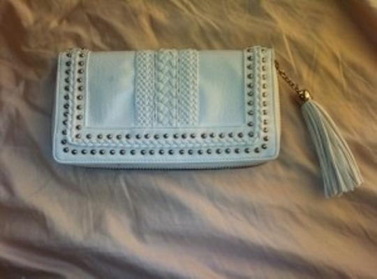 Preload https://item4.tradesy.com/images/bebe-studded-white-leather-clutch-11203-0-0.jpg?width=440&height=440