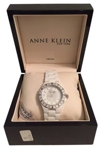 Anne Klein Anne Klein Ceramic White Watch