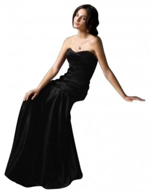 Item - Black 2749.....bridesmaid / Dress.......black.....0 Long Formal Dress Size 0 (XS)