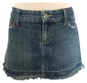 American Eagle Outfitters Mini Skirt Medium Blue Denim