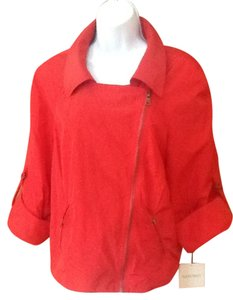 Ellen Tracy Red Spice Blazer
