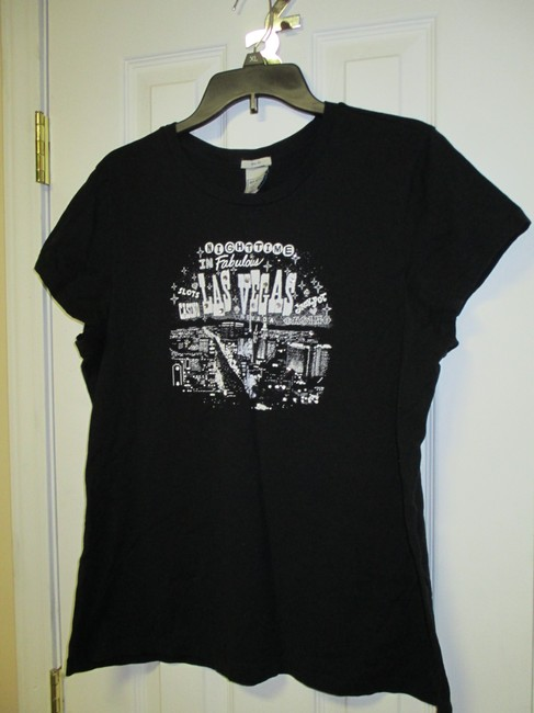 Old Navy Xxl Lightly Stretch T Shirt Black