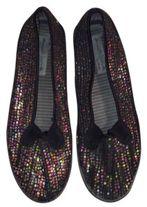 Keds Black/Multicolored Flats