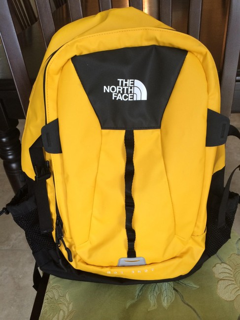 Item - Yellow Phthalate-free Polyester and Nylon Backpack