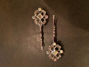 David's Bridal Rhinestone Surround Hair Pins