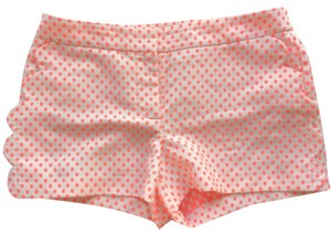 J.Crew Mini/Short Shorts Cream with pink
