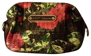 Betsey Johnson Flower cosmetic case n/a