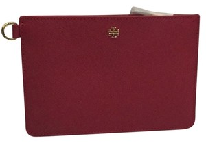 Tory Burch Kir Royale Small York Leather Pouch Case Brand New