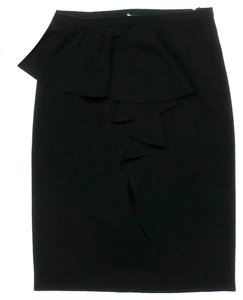 Moschino Ruffle Skirt Black