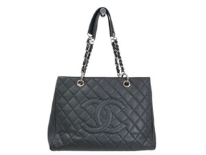 Chanel Tote in Black / Silver
