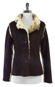 True Grit Brown Vegan Fur Fur Jacket