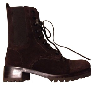 Tory Burch Brown Leather Ankle Boots Brown Boots