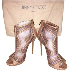 Jimmy Choo Pink Boots