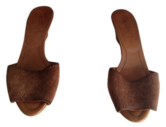 Item - Cognac/Medium Brown 1x5796 55 Mules/Slides Size US 9 Regular (M, B)