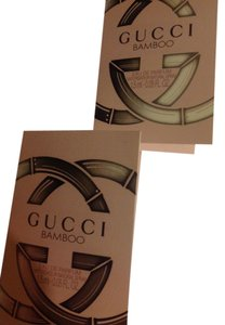Gucci 2 pieces Gucci bamboo eau de parfum mini 1.5ml