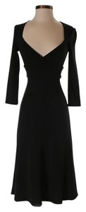 Black Maxi Dress by Diane von Furstenberg Wool Longsleeve