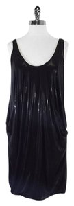 Diane von Furstenberg short dress Shiny Little Black Little Black on Tradesy
