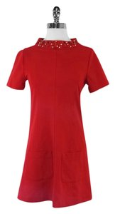 Anna Rachele short dress Red Short Sleeve on Tradesy