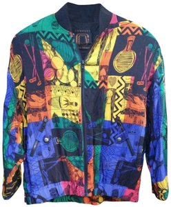 Ellen Tracy Multi-color Jacket
