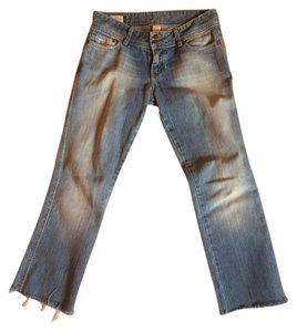 Abercrombie & Fitch Capri/Cropped Denim-Light Wash
