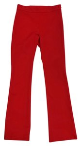 Anna Rachele Red Bootcut Boot Cut Pants