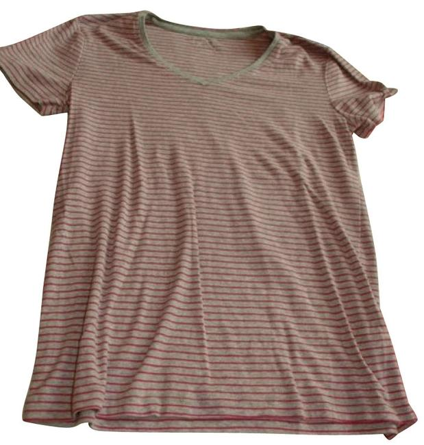 Preload https://img-static.tradesy.com/item/1121/nicole-miller-pinkgray-tee-shirt-size-6-s-0-0-650-650.jpg