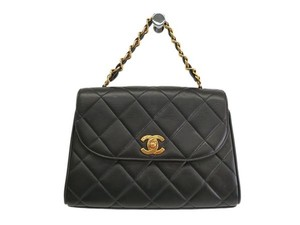 Chanel Satchel in black