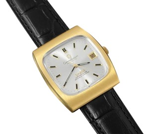 Omega 1969 Omega Constellation Vintage Mens Watch - 18K Gold Plated & Stainless Steel