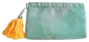 BCBGeneration Sea Foam Clutch