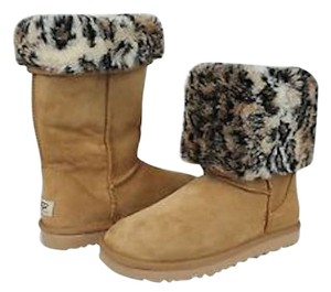 UGG Australia Ski Wear Winter Animal Print Animal Print Ski Life Snow Boots