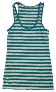 American Eagle Outfitters Top WHITE AND GREEN